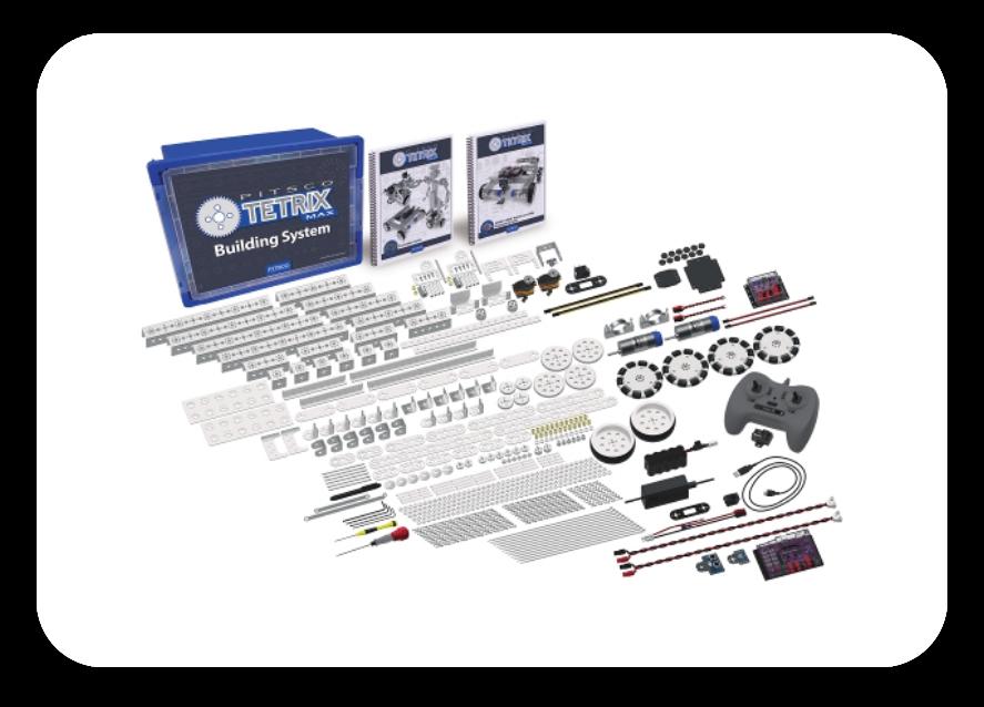 TETRIX® MAX Dual-Control Robotics Set
