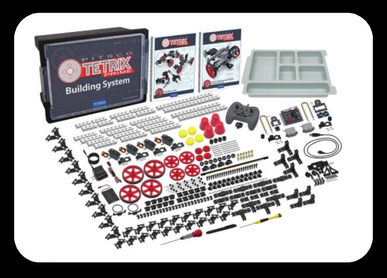 TETRIX® PRIME Dual-Control Robotics Set