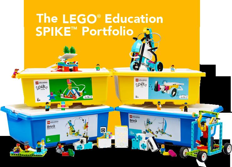 Lego Education spike kits